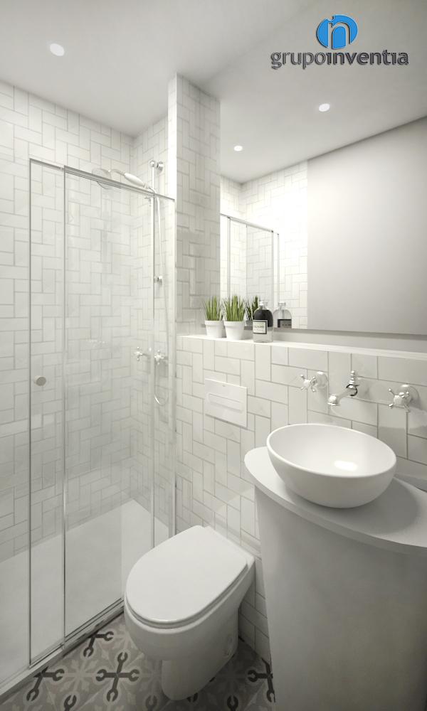 Baño suite 3D para casa en calle Sol (Tiana)