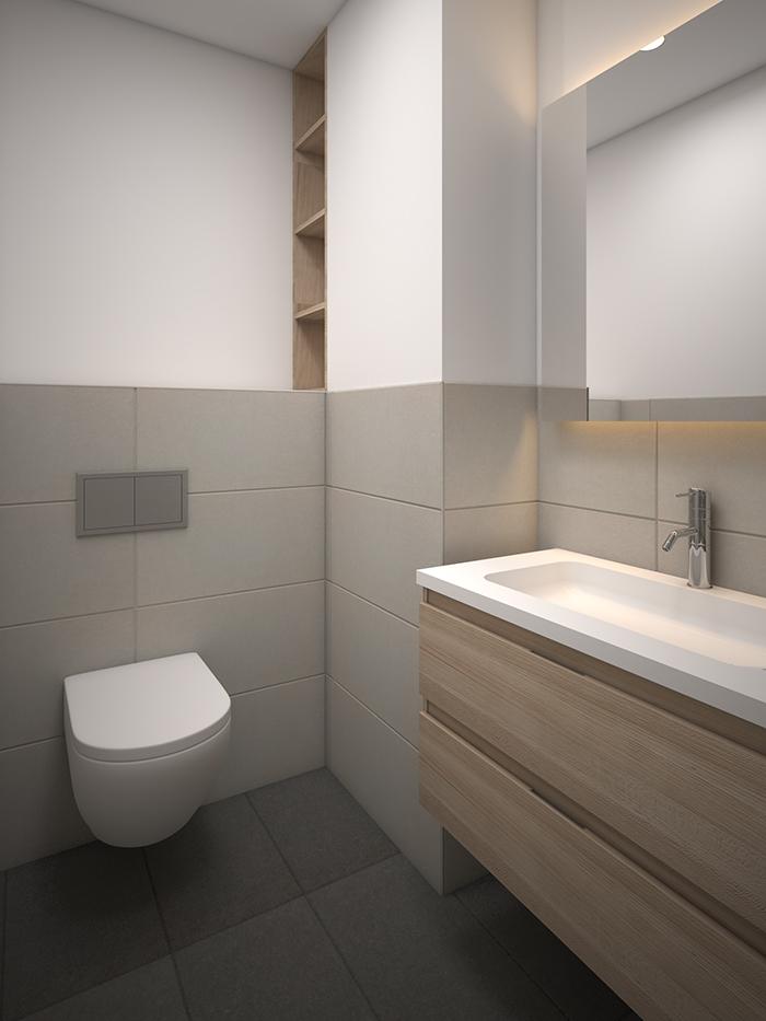 Proyecto de reforma de baño en Compte Güell