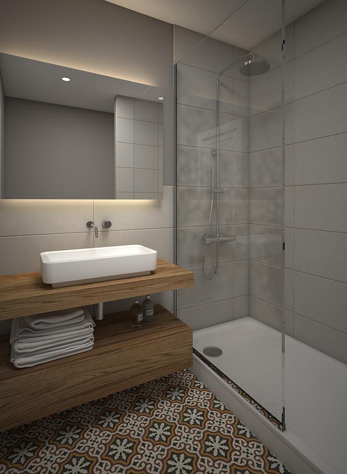 Proyecto de reforma de baño en calle Londres