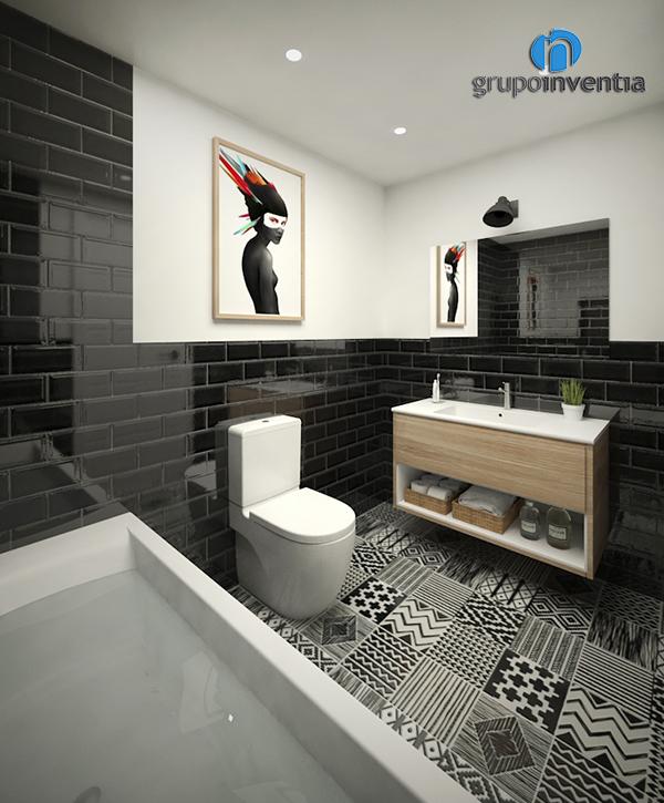 Proyecto de reforma de Baño suite en calle Calderón (Barcelona)