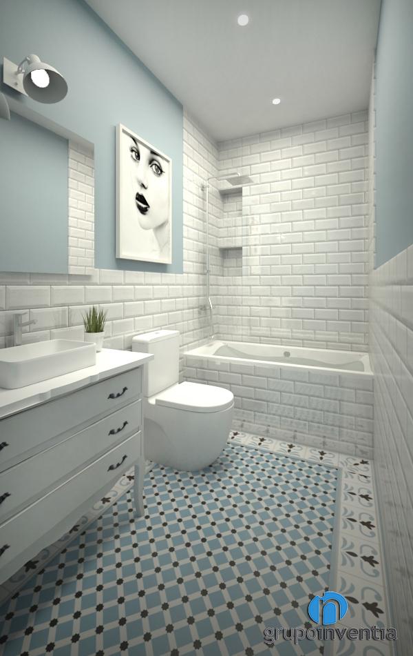 Proyecto de reforma de baño en calle Sol de Tiana