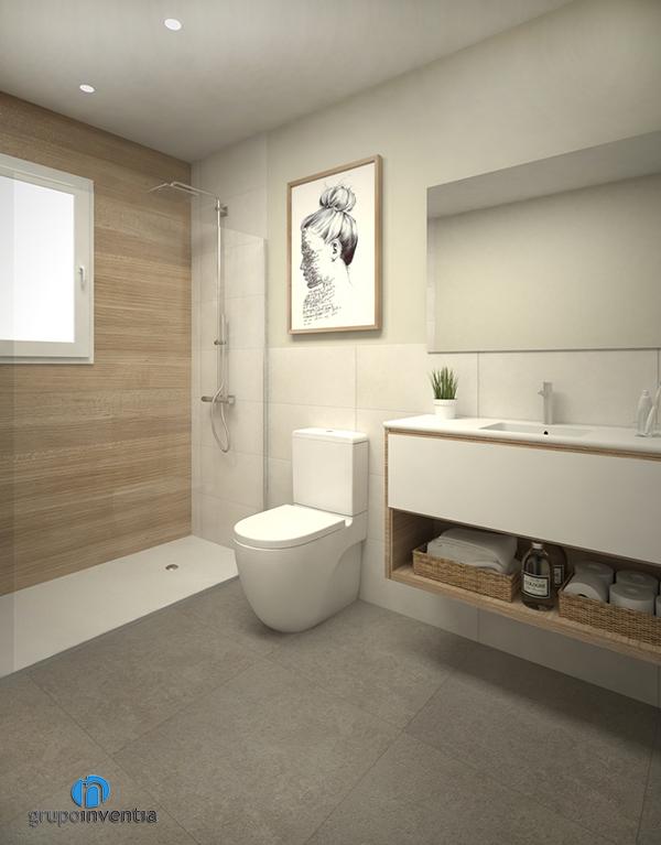 Proyecto de reforma de baño en calle Clotet de L'Hospitalet