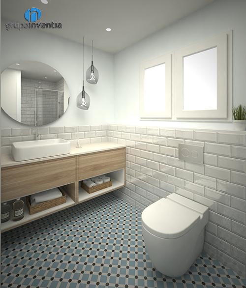 Proyecto de reforma de baño en calle Igualada de Barcelona
