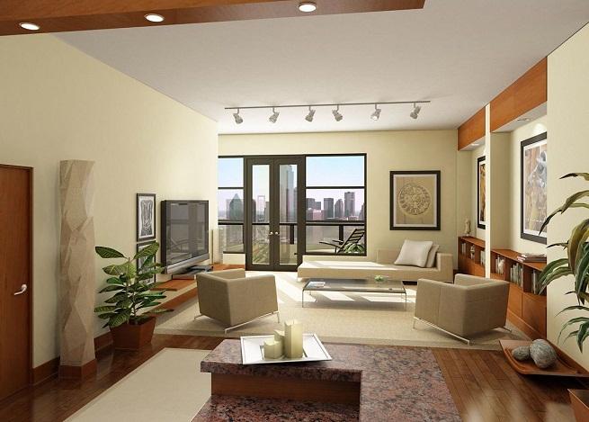 Caracter sticas del estilo minimalista grupo inventia for Decoracion de interiores living