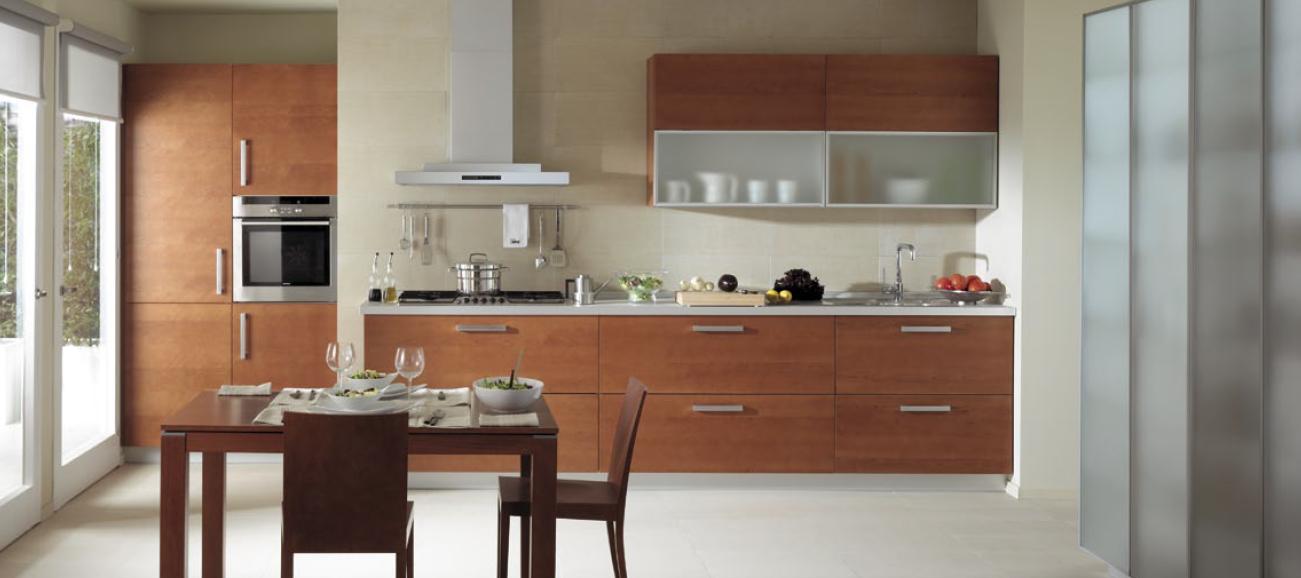 Distribuci n lineal ideal para cocinas abiertas al sal n for Muebles de cocina x metro lineal