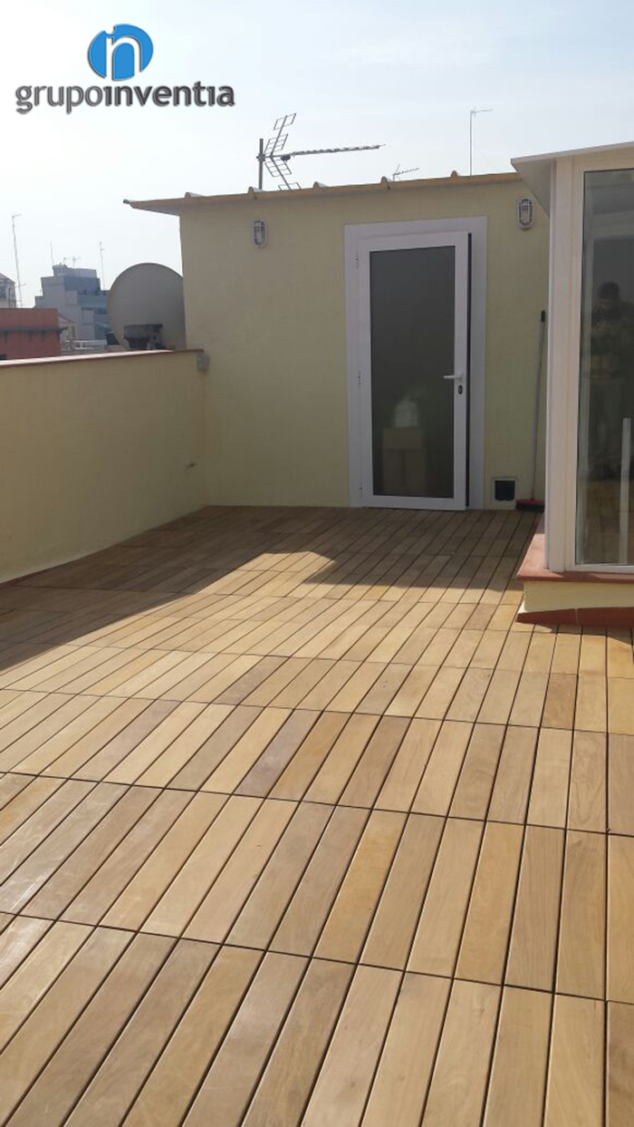Reforma de terraza en calle coll de barcelona - Reformas de terrazas ...