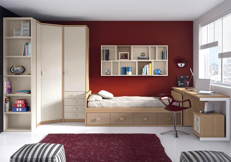 Dise ar y amueblar un dormitorio juvenil grupo inventia - Dormitorio juvenil decoracion ...