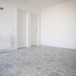 salon con pavimento hidraulico