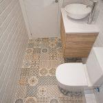 azulejos biselados para baño