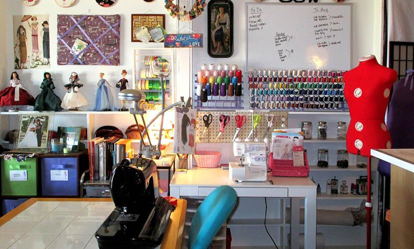 salón de costura