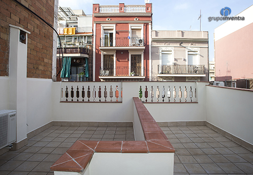 Trabajos de reforma de terraza