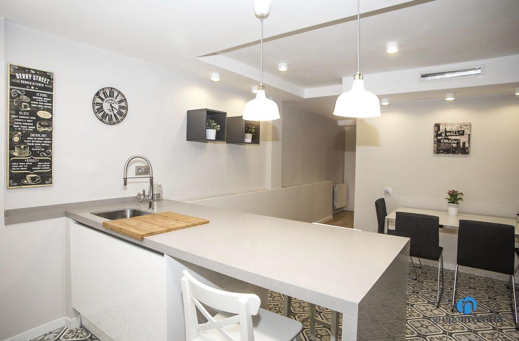 Cocina abierta (calle Còrsega Barcelona)