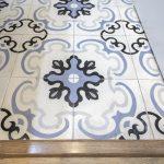 pavimento hidráulico de cocina