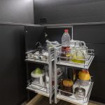 capacidad de almacenaje cocina