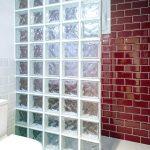 pared cristal baño