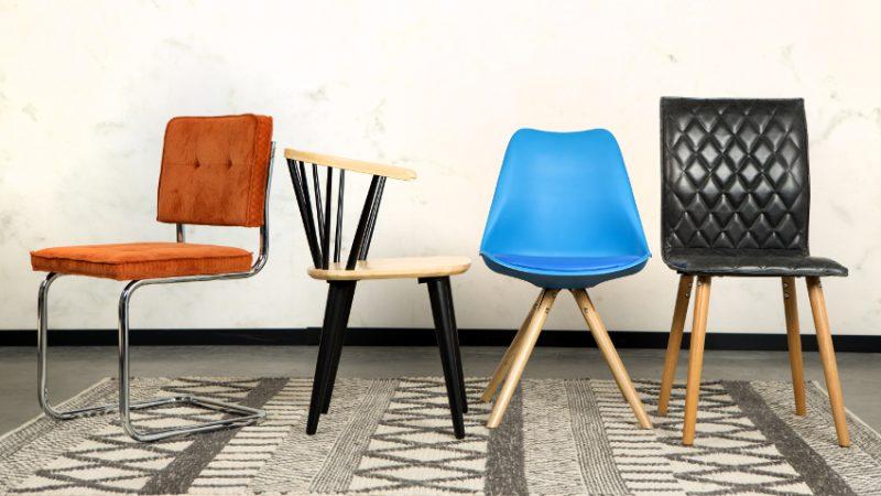 sillas comodidad y diseño