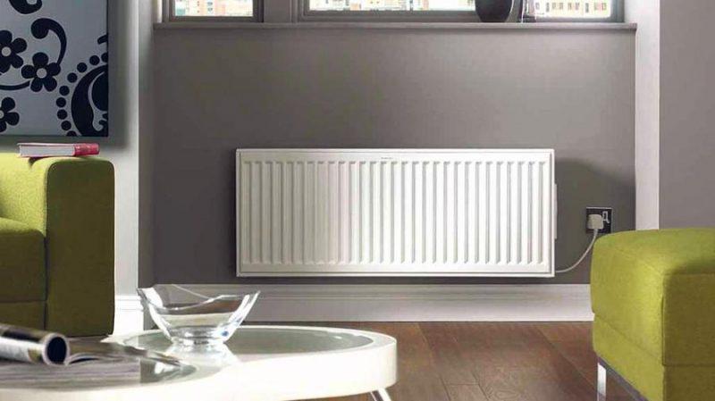 radiador electrico pared