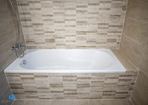 bañera empotrada