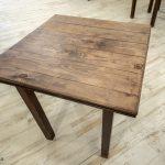 mesas madera restaurantes