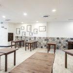 mesas madera restaurante