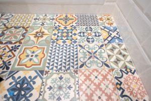 suelo colores baño