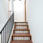 azulejos escalera