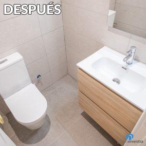 antes y despues reforma baño