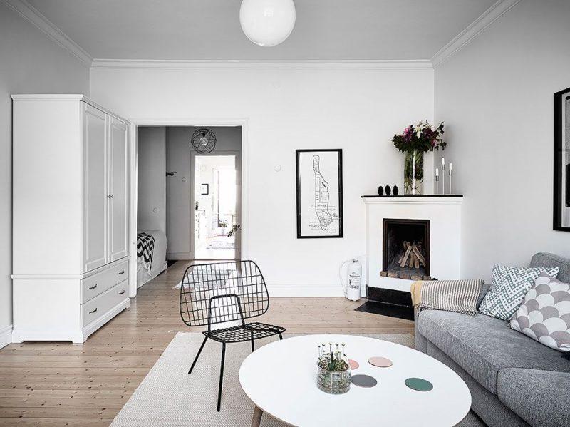 diseño salón pequeño