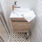 mueble baño flotante