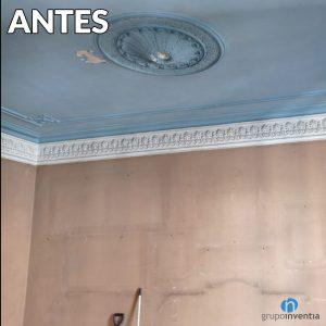 techo restaurado