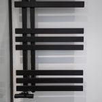 radiador negro baño