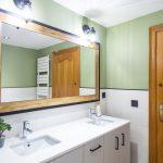 espejo rectagular baño